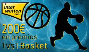 1vs1 interwetten1 e1388673137594 Concurso: 1 vs 1 basket. 200€ en premios. (100€ para el ganador)