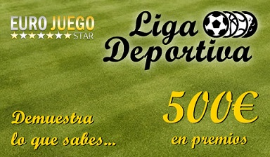 ligadeportiva #LigaDeportiva   Gana parte de los 500€ quedando entre los 15 primeros