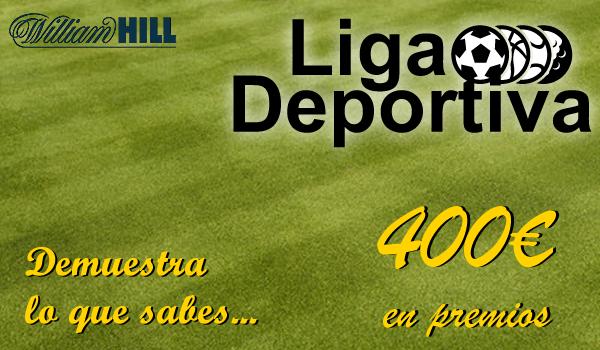 ligadeportiva.fw #LigaDeportiva WilliamHill gana premios Con Tus Apuestas, equilibrio saca el mejor