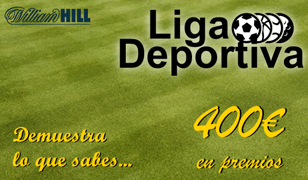 ligadeportiva.fw  #LigaDeportiva WilliamHill   gana premios con tus apuestas, saca el mejor balance