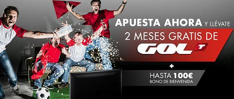 SportiumGolT Dos meses gratis de GolT gracias a @sportium y @todoapuestas