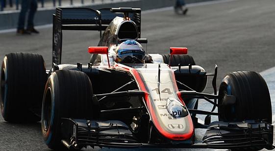 McLaren-Honda Alonso