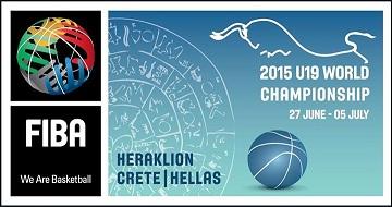 Mundial Baloncesto sub19 2015