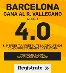 BarcelonaVSRayoCuota4Betfair