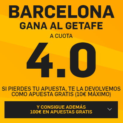 PromoCuotaBetfairGetafeBarca