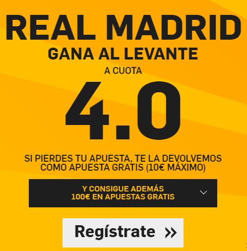 RealMadridVSLevanteCuota4Betfair