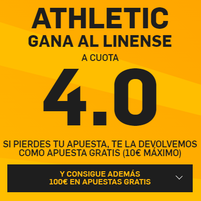PromoCuotaBetfairAthleticLinense