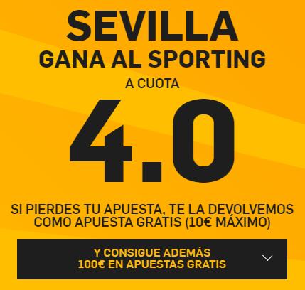 PromoCuotaBetfairSevillaSporting