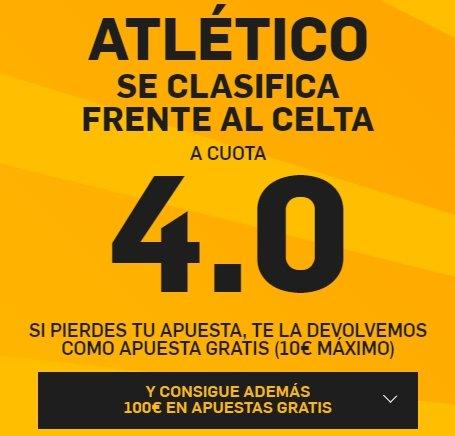 PromoCuotaBetfairAtleticoCelta