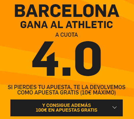 PromoCuotaBetfairBarcaAthletic