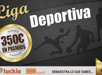 (Concurso) Liga Deportiva con 350€ en premios #LigaDeportiva