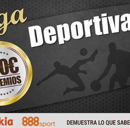 """Prueba nuestra """"casa de apuestas"""" Liga Deportiva y te damos 100 puntos"""