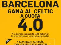 Súper Cuota – Barcelona gana al Celtic a 4.0 (http://goo.gl/ZSxh4F)