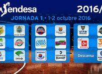 Calendario OFICIAL Liga Endesa 2016-2017