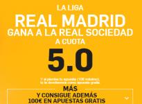 SúperCuota – Real Madrid gana a Real Sociedad a 5.0 ( http://goo.gl/JdmGnPhttp://goo.gl/WHZorN <- enlace)