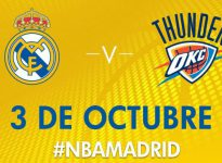 Apuesta baloncesto Amistoso Real Madrid vs Oklahoma City Thunder II LIVE