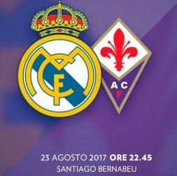 Apuesta fútbol Trofeo Santiago Bernabéu Real Madrid – Fiorentina (Goles)