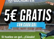 5€ gratis con cada gol